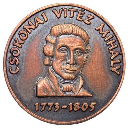 Csokonai Vitéz Mihály bronz
