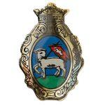 Szentendre város címere (színes)