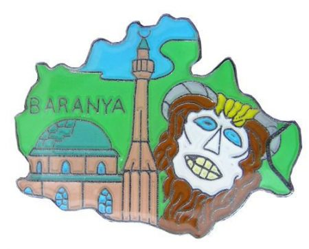 Megye kitűző, Baranya megye
