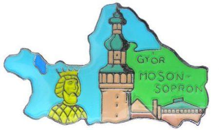 Megye kitűző, Győr-Moson-Sopron megye