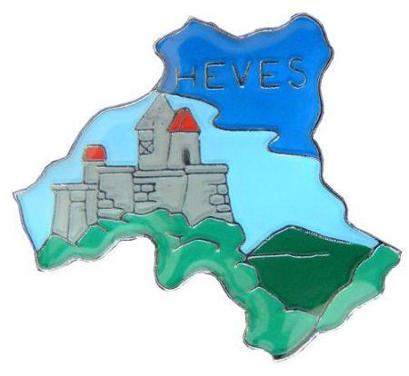 Megye kitűző, Heves megye