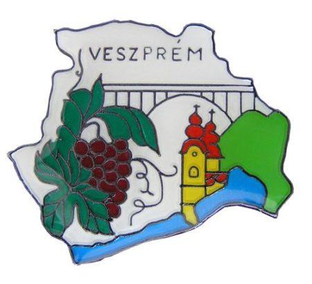 Megye kitűző, Veszprém megye