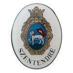 Szentendre város címere (ovál)