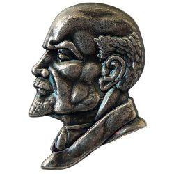 Lenin ezüstözött