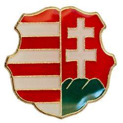 Kossuth Barokk Címer 15,5 mm-es Fedő