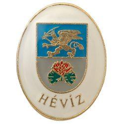 Hévíz város címere (fehér)