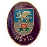 Hévíz város címere (lila)
