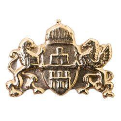 Budapest címer arany