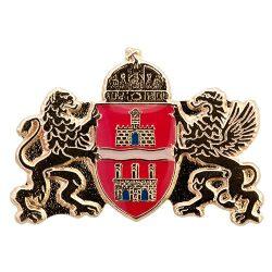 Budapest címer 19 x 25 mm