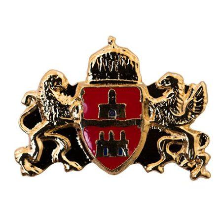 Budapest címer 13 x 18 mm