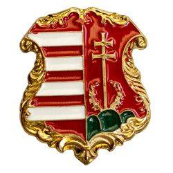 1849-es címer 15x13 mm (magyar áalladalom címer)