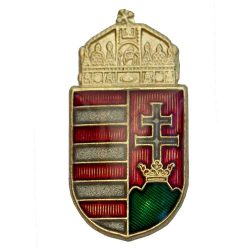 Magyar koronás címer 18 mm-TRE