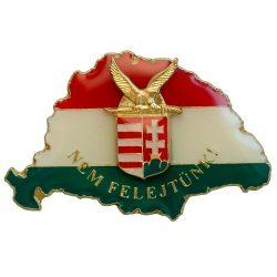 Nem Felejtünk fedő P-F-Z Turulos címerrel