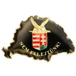 Nem Felejtünk fekete turulos címerrel