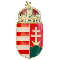 Magyar koronás címer 30 mm - VF