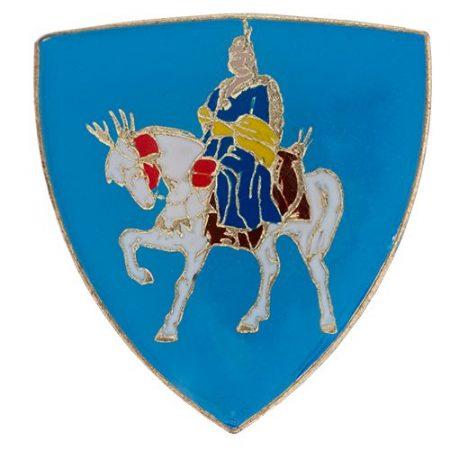 Árpád lovas kitűző