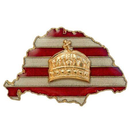 Nagy-Magyarország árpádsávos koronás