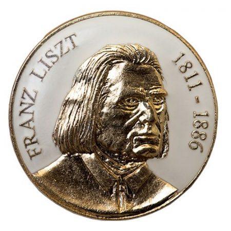 Liszt Ferenc fehér
