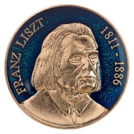 Liszt Ferenc kék
