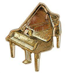 Hangszer-Zongora aranyozott