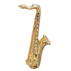 Hangszer-Szaxofon aranyozott