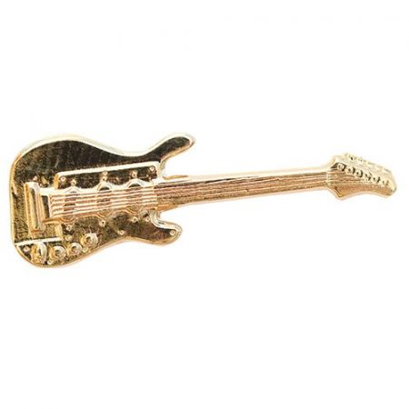 Hangszer-Gitár aranyozott