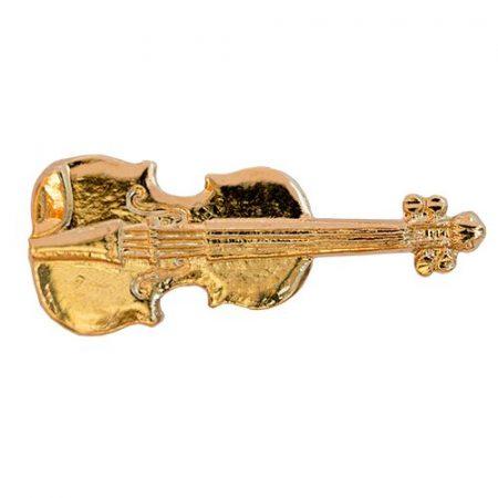 Hangszer-Hegedű aranyozott
