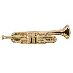 Hangszer-Trombita aranyozott