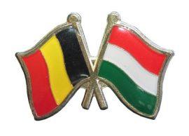Pároszászló, Belga - Magyar