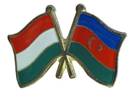 Pároszászló, Magyar - Azerbajdzsán