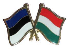 Pároszászló, Észt - Magyar