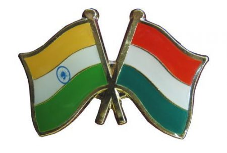 Pároszászló, India - Magyar