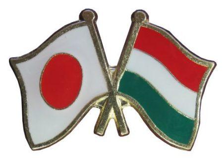 Pároszászló, Japán - Magyar