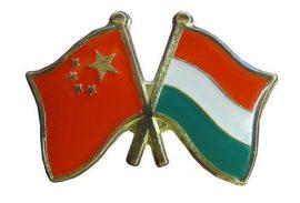 Pároszászló, Kína - Magyar