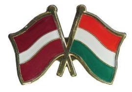 Pároszászló, Lett - Magyar