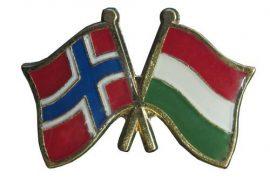 Pároszászló, Norvég - Magyar