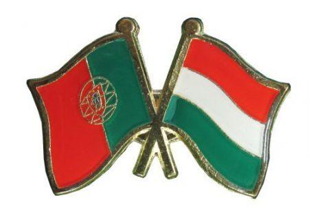 Pároszászló, Portugália - Magyar