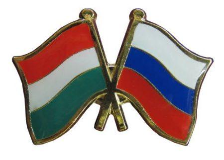 Pároszászló, Magyar - Orosz