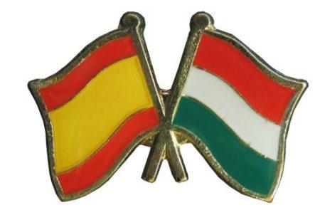 Pároszászló, Spanyol - Magyar