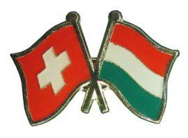 Pároszászló, Svájc - Magyar