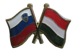 Pároszászló, Szlovén - Magyar