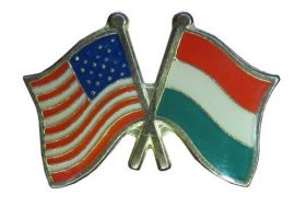 Pároszászló, USA - Magyar