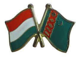 Pároszászló, Magyar - Türkmén