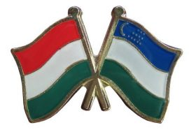 Pároszászló, Üzbegisztán - Magyar