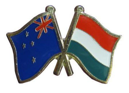 Pároszászló, Újzéland - Magyar