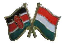 Pároszászló, Kenya - Magyar