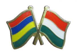 Pároszászló, Mauritius - Magyar
