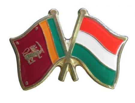 Pároszászló, Sri Lanka - Magyar