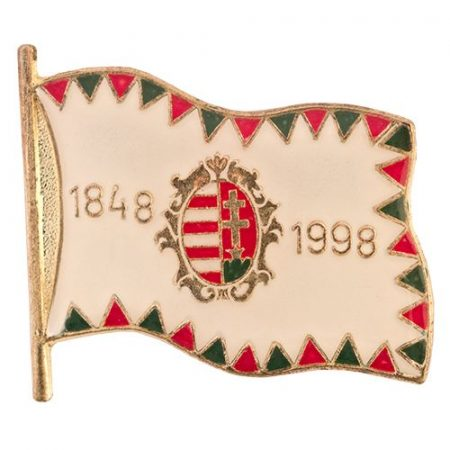 Farkasfogas Zászló Barokk Címeres 22 mm