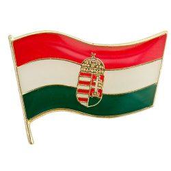 Magyar Zászló Címerrel 21 mm-es